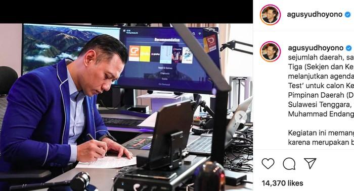 Instagram/@agusyudhoyono