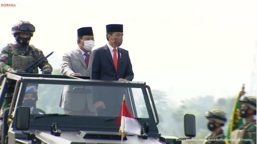 Elite PDIP Maknai Pujian Terbaru Prabowo ke Jokowi Penghargaan untuk Nawacita