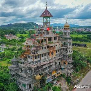 Petani Bangun Istana 10 Lantai Rp 33 M, Begini Desainnya yang Bikin Bingung