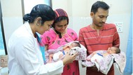 Kisah Perempuan India Lahirkan Anak Kembar di Hari Kematian 2 Putrinya