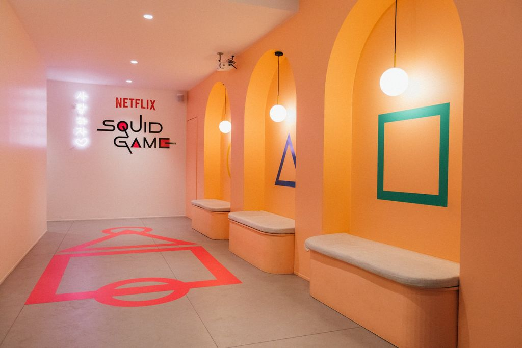 Pop Up Store Squid Game