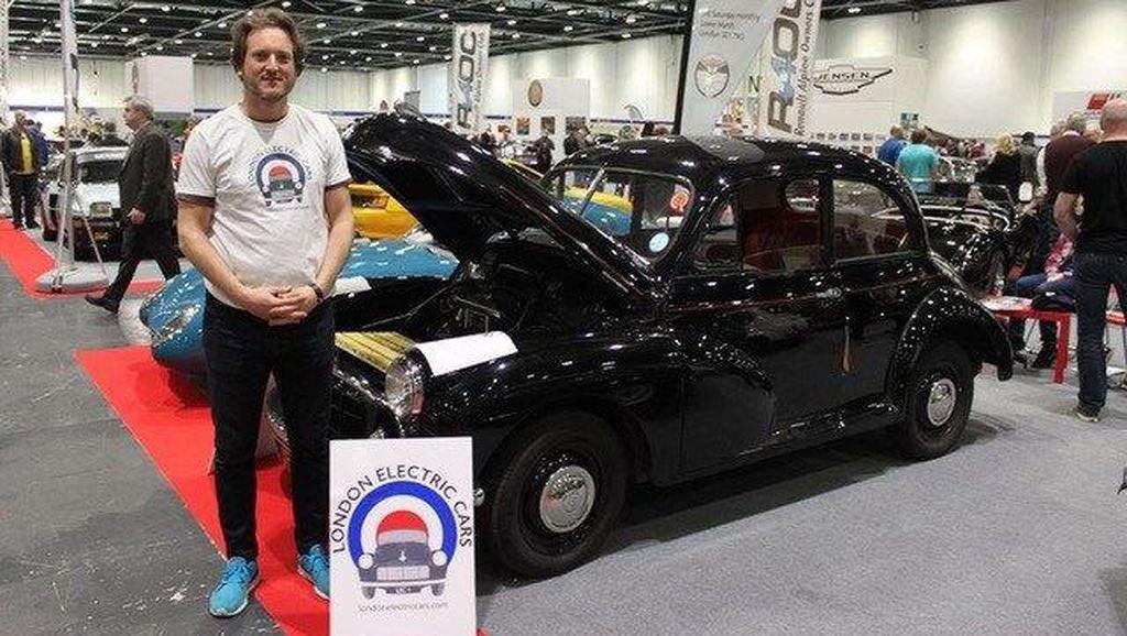 Pria Inggris Ini Sulap Morris Minor Klasik Jadi Mobil Listrik