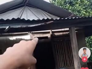 Viral Pria Manado Tetap Bangga Pamer Rumahnya dari Kayu Rapuh Walau Diejek