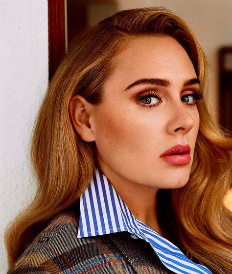 Adele di majalah US Vogue