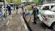 Aksi Warga hingga TNI Bersih-bersih Terminal Ciamis