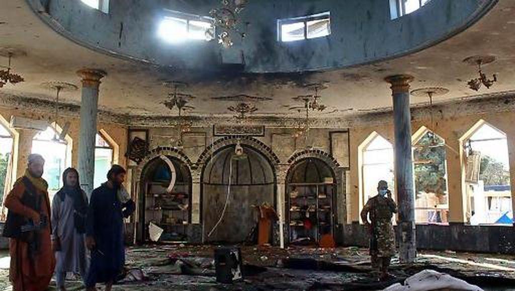 Potret Masjid Syiah Afghanistan yang Diserang Bom Saat Salat Jumat