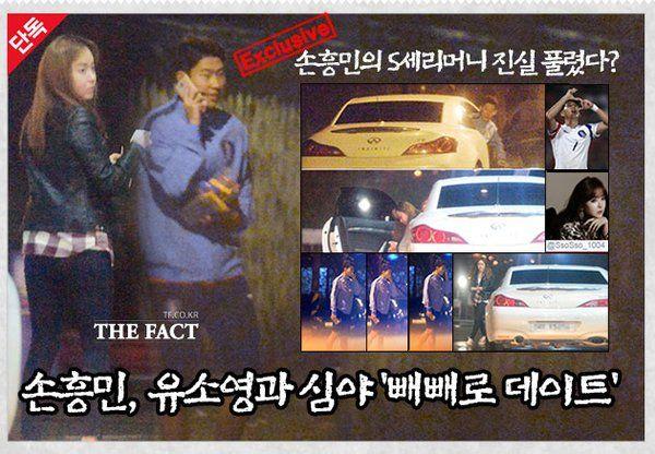 Idol KPop yang Pernah Pacaran dengan Son Heung Min