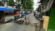 Intip Aktivitas Warga Petamburan Saat PPKM di Ibu Kota Diperpanjang