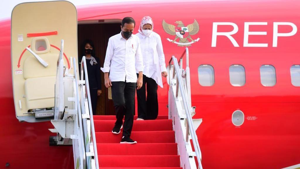 Usai Kunker di Bali, Jokowi Bertolak ke Yogyakarta