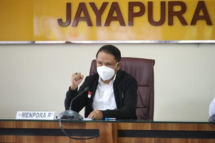 Menpora Wanti-wanti Atlet hingga Penonton PON Papua Disiplin Prokes