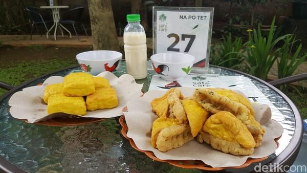 Salah satu menu makanan di Pabrik Tahu Na Po Tet.