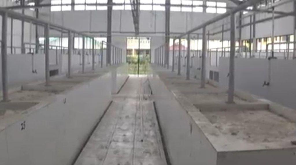 Terbengkalai, Pasar Rp 4 Miliar di Jambi Kini Dipenuhi Debu-Kotoran Hewan