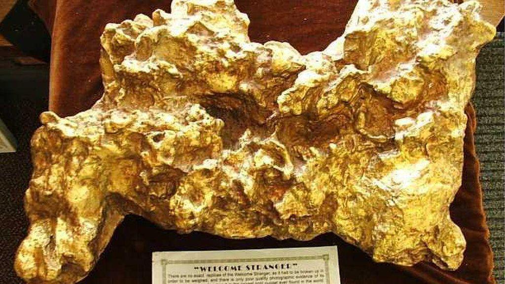 Pernah Lihat Emas Terbesar di Dunia? Begini Bentuknya