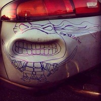 fotoinet cara kreatif reparasi mobil yang rusak