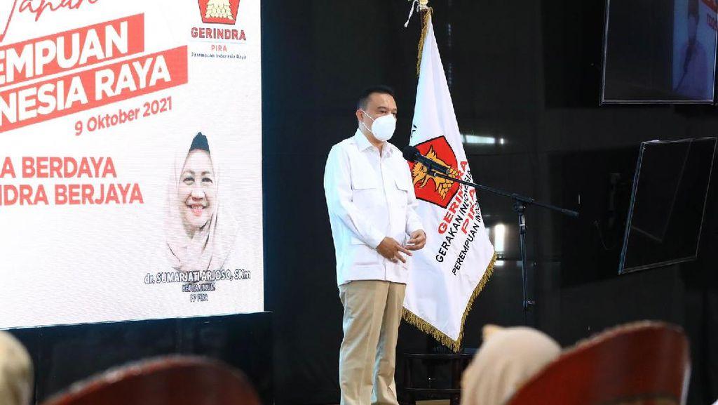 Sufmi Dasco Minta Perempuan Indonesia Raya Semangat Perkuat Gerindra