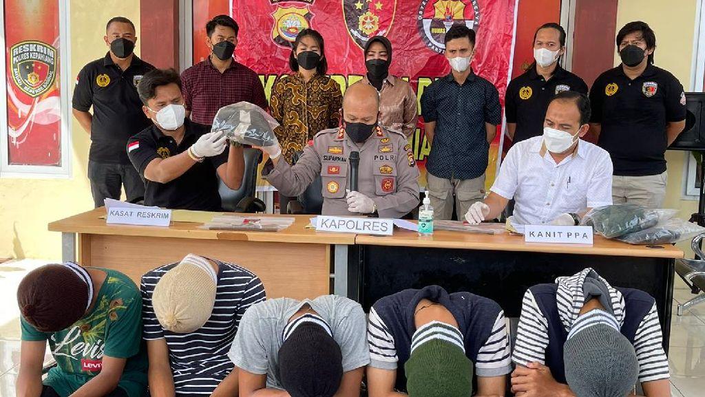 Tawuran Siswa SMA Vs SMK Tewaskan 1 Orang di Bengkulu, 5 Pelajar Ditangkap