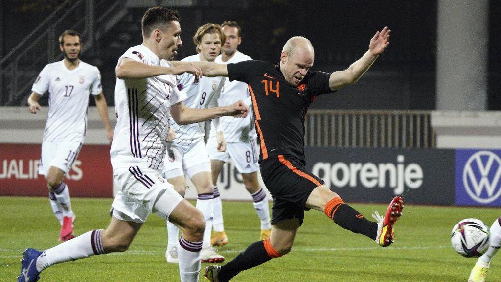 Kualifikasi Piala Dunia 2022: Belanda Menang 1-0 atas Latvia