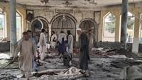 Puluhan Jiwa Melayang Akibat Bom Bunuh Diri ISIS di Masjid Afghanistan