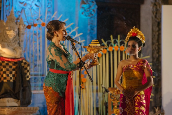 Pembukaan Ubud Writers and Readers Festival 2021