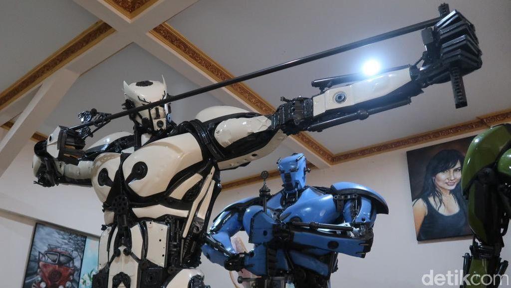 Replika Robot dari Bantul Ini Terbang ke China hingga Jerman