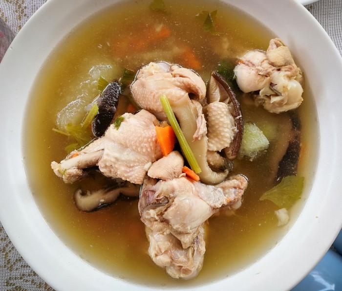 Resep Sup Ayam Jamur Shitake