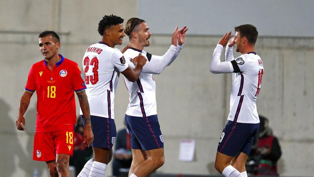 Andorra Vs Inggris: Tim Tiga Singa Pesta Gol 5-0