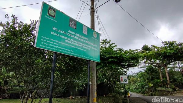 Bernama Jatimulyo, kalurahan ini telah dikenal sebagai desa ramah burung. (Jalu Rahman Dewantara/detikcom)