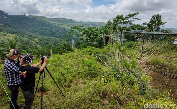 Jatimulyo terletak di kawasan BukitMenoreh, sebuah pegunungan kapur yang membentang dari Kabupaten Kulon Progo (DIY), Purworejo, dan Magelang (Jawa Tengah).(Jalu Rahman Dewantara/detikcom)