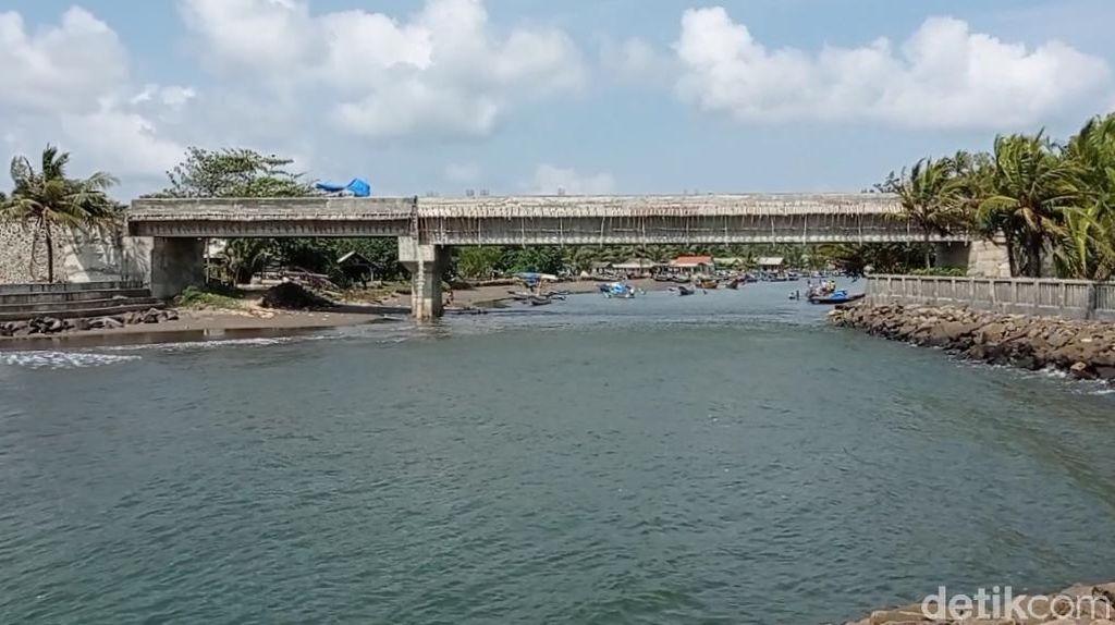 Warga Sambut Baik Segera Rampungnya Jembatan Cikidang Pangandaran