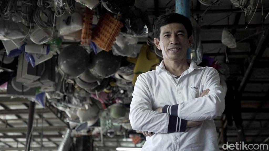 Kisah Nurcholis, Pemilik Mal Rongsok di Depok Beromzet Rp 100 Juta per Bulan