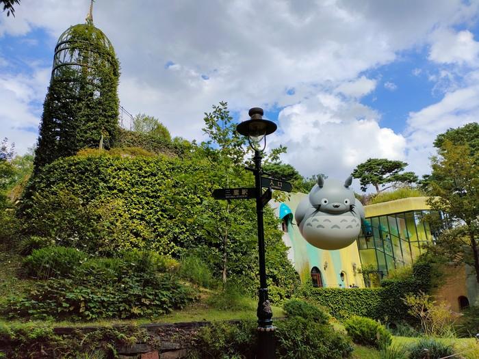 Balon Raksasa Totoro di Museum Ghibli