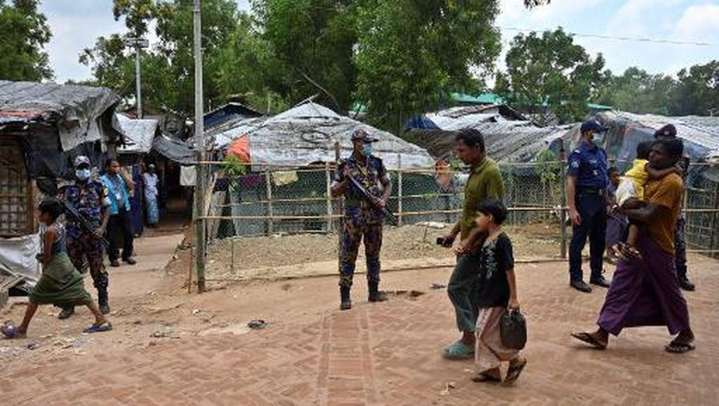Polisi Bangladesh Tangkap 16 Orang saat Gerebek Kamp Rohingya di Dhaka