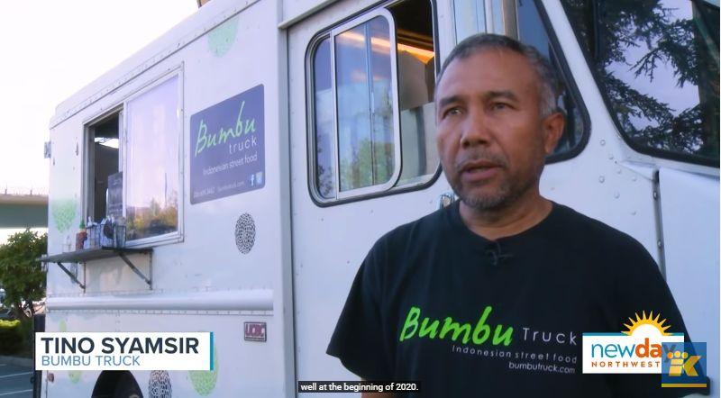 Bumbu Truck, Food Truck di Amerika yang Tawarkan Makanan Indonesia. Ada Nasi Kuning, Lumpia, hingga Sate Ayam