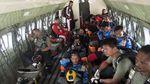 Detik-detik Atlet Terjun Payung Beraksi di Udara