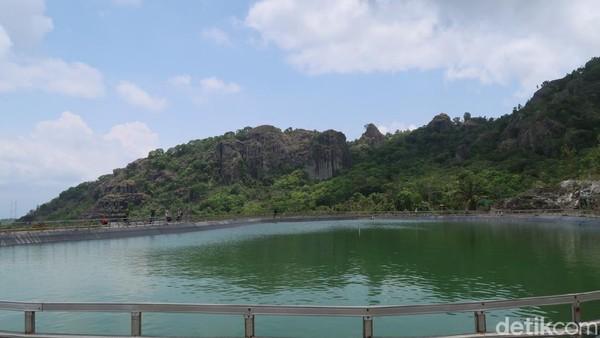Sandiaga mengungkapkan bahwa Desa Wisata Nglanggeran menjadi Desa Wisata Mandiri Inspiratif untuk Indonesia Bangkit.(Pradito Rida Pertana/detikcom)