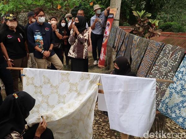 Desa Wisata Nglanggeran bisa dibilang adalah salah satu destinasi kelas dunia.(Pradito Rida Pertana/detikcom)