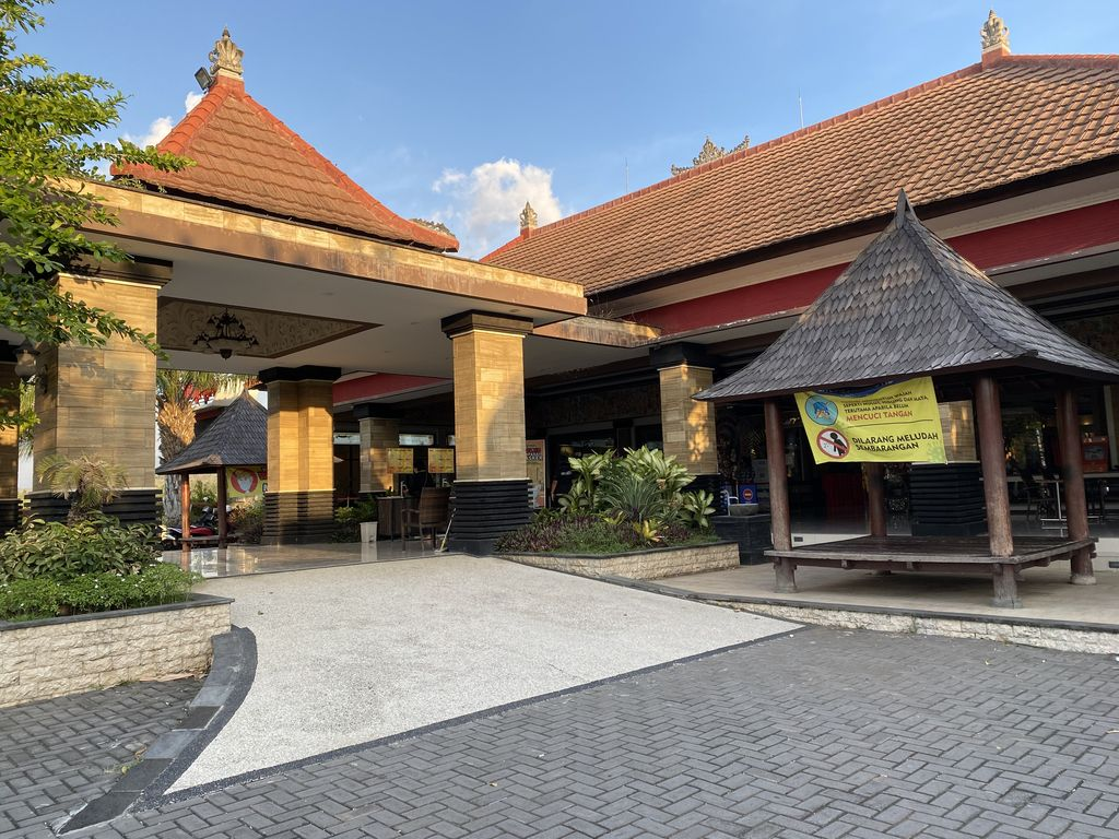 Kosong Melompong! Begini Kondisi Pusat Oleh-oleh Krisna di Buleleng Bali