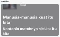Meme Anthony Ginting Kalah Thomas Cup VS Thailand