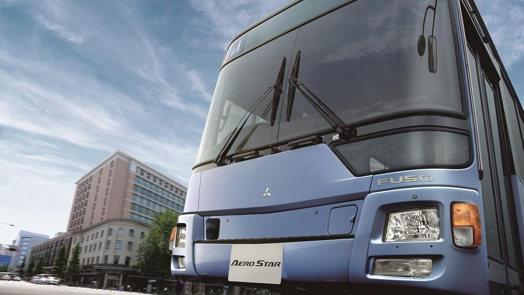 Mitsubishi Fuso Luncurkan Bus Perkotaan Baru, Cocok Nih Buat Transjakarta