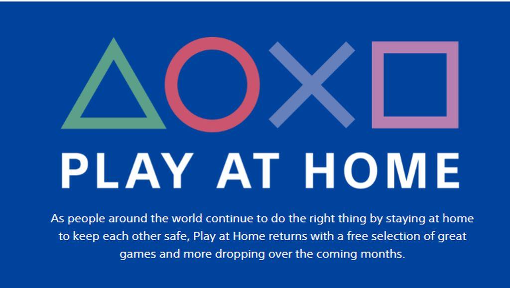 Sony Siap Hadirkan Game Gratis Play at Home Jika COVID-19 Berlanjut