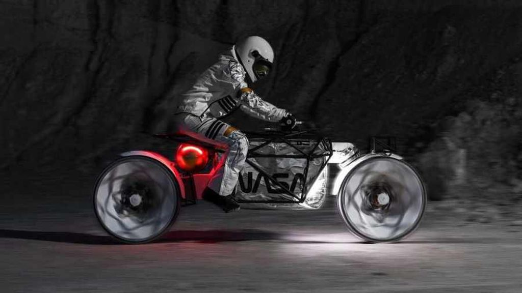 Jika Kru NASA Ingin Touring di Bulan, Ini Desain Motornya