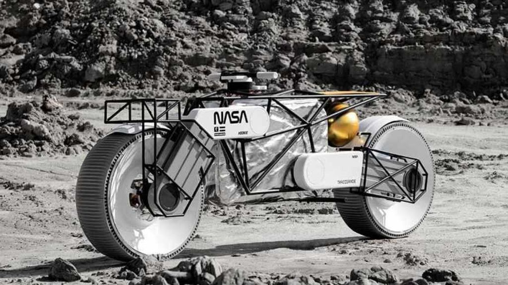 Andai NASA Buat Motor untuk Beraktivitas di Bulan, Bisa Jadi Begini Desainnya