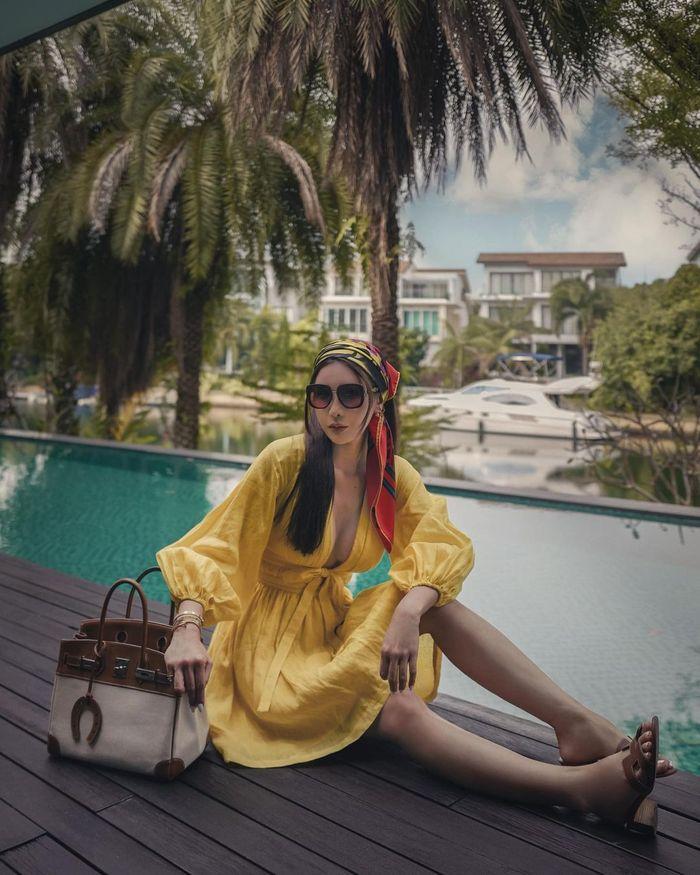 Hobi Berkebun, Jamie Chua Punya Pohon Lemon Rp 14 Juta!