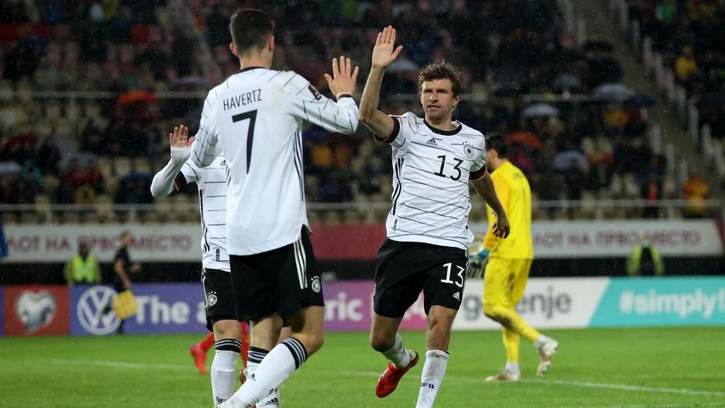 Jerman Lolos ke Piala Dunia 2022 Usai Kalahkan Makedonia Utara