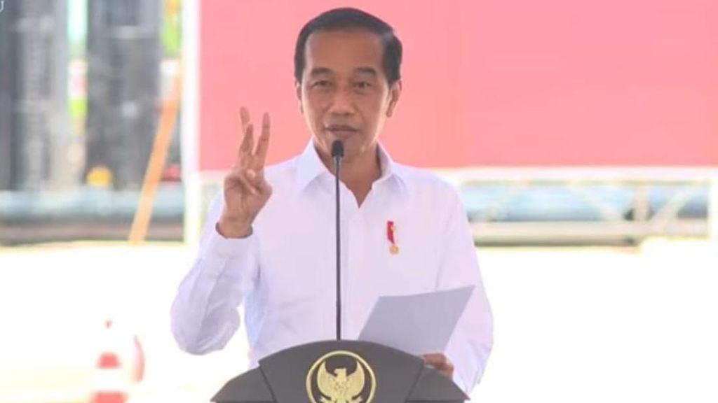 Sebut Jembatan Sei Alalak Bisa Bertahan 100 Tahun, Jokowi: Tahan Gempa!