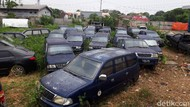 Penyebab 36 Mobil Terbengkalai di Kantor Dishub Tak Kunjung Dilelang