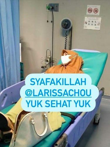 Larissa Chou sakit