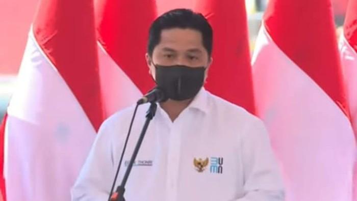 Menteri BUMN Erick Thohir