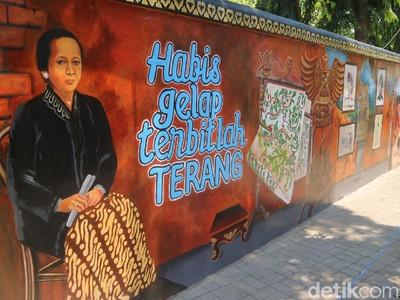 Ada Mural Baru di Museum Kartini Jepara, Sudah Tahu?