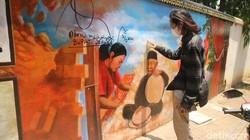 Potret Mural Baru di Museum Kartini Jepara